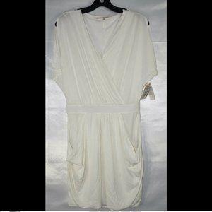 Rachel Roy Women's Faux Wrap Mini Dress